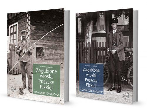2 tomy Zagubionych wiosek Puszczy Piskiej